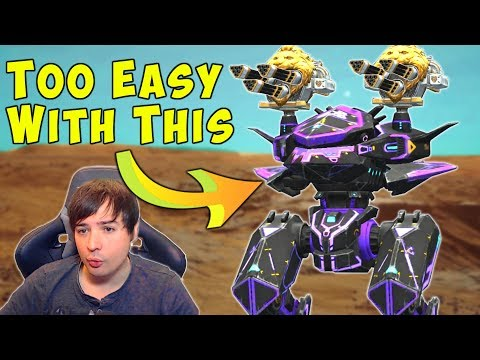 TOO EASY With AVENGER AO JUN - War Robots Mk2 Free For All Gameplay WR