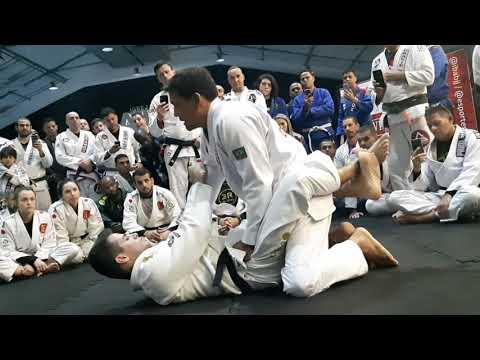 VII Seminário Atitude Jiu Jitsu - Ricardo De La Riva E Alessando Marins PT1