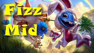 League of Legends - Cottontail Fizz Mid - Full Game Commentary