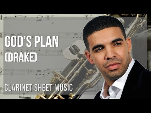 EASY Clarinet Sheet Music: How to play God's Plan by Drake
