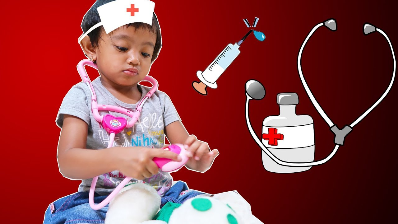 Mainan Anak Dokter Dokteran ❤ Mainan Anak Perempuan - YouTube 239cd017f8