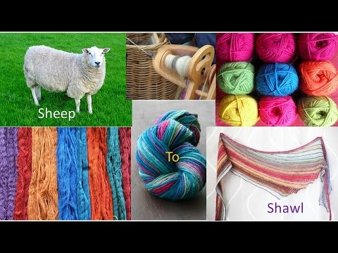GCHS Presentation - Sheep to Shawl 12 Feb 2017