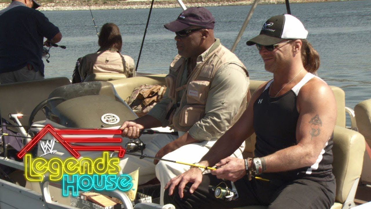 Fishing with Shawn Michaels: WWE Legends' House, May 29, 2014 #1