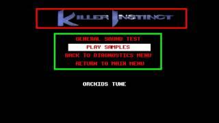 Killer Instinct (v1.5d) - Arcade Music Competition: Killer Instinct Orchid