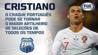 MAIS UM RECORDE DO ROBOZÃO? Cristiano Ronaldo pode bater marca que nem Pelé conseguiu!