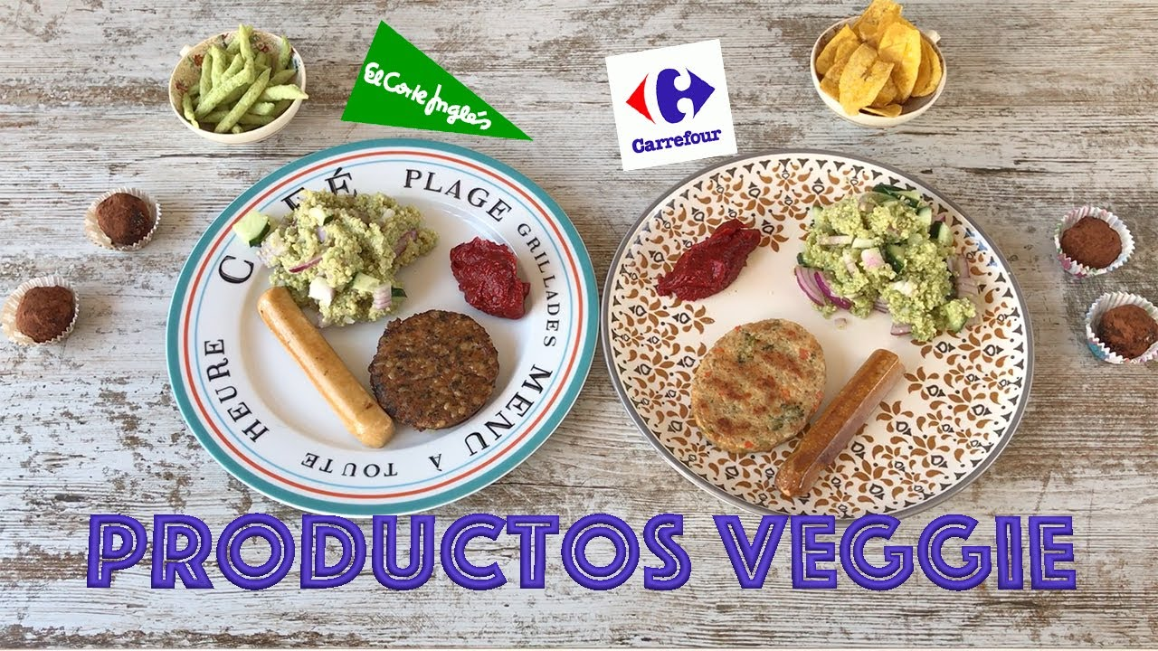 Productos Vegetarianos El Corte Ingles Vs Carrefour Quién Gana Youtube