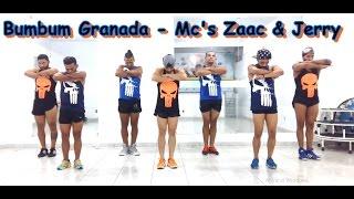 Bumbum granada - MCs Zaac &  Jerry, coreografia Meu Swingão.