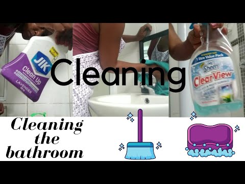 Cleaning with me   cleaning motivation  South African Youtuber