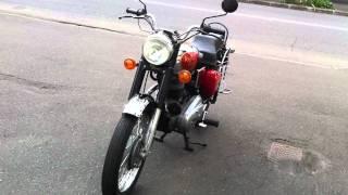 旧車、クラシック、バイク。SANRAD ROYAL ENFIELD BULLET 350