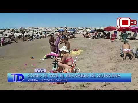 Cómo se vive el recambio de quincena en Mar del Plata