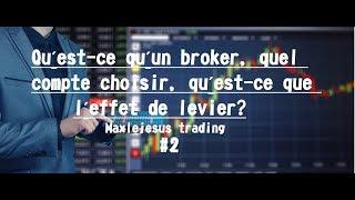 FOREX POUR LES DÉBUTANTS|| Épisode 2: Type de compte, effet de levier, choix du broker