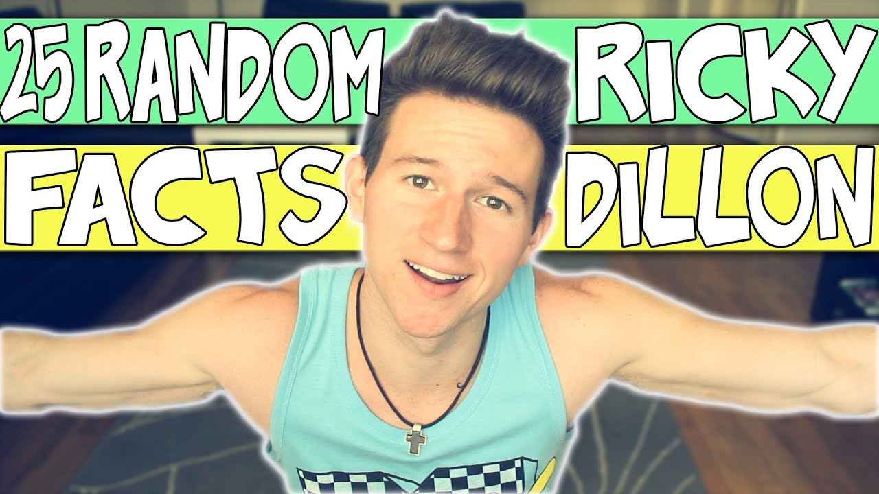 25 FACTS ABOUT ME | RICKY DILLON - YouTube