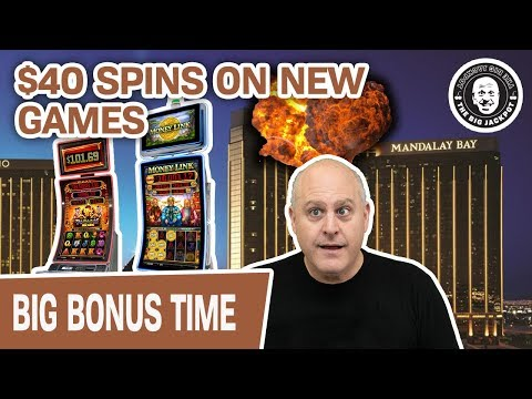 🎰 $40 SPINS On NEW GAMES For TBJ! 🎇 Mandalay Bay Vegas Slots