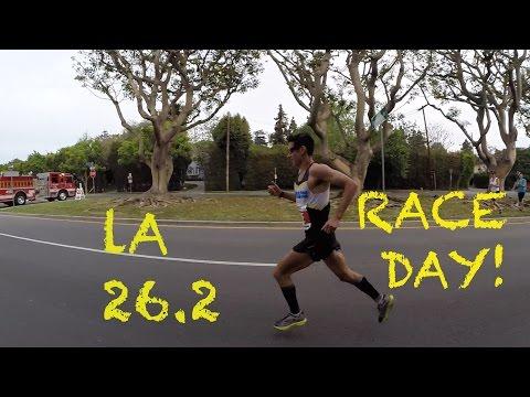 Sage Canaday: Training For an OTQ   Episode 13: LA Marathon 2015 RACE DAY