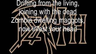 Death - Zombie Ritual with lyrics