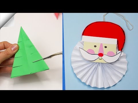 8 diy christmas | Christmas crafts for kids | 5 minute crafts christmas