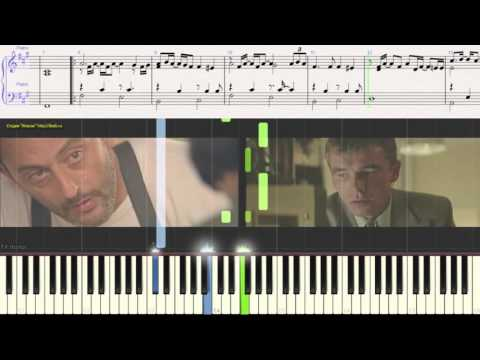 Sting - SHAPE OF MY HEART (piano cover) из к/ф