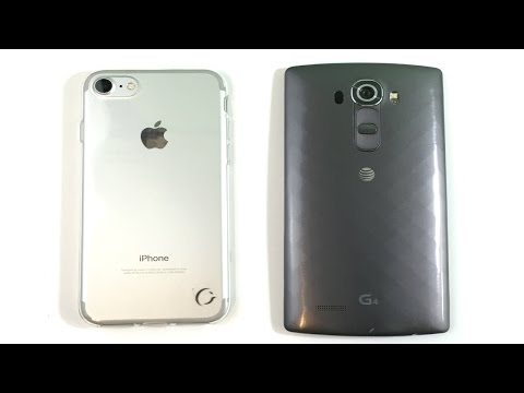 iPhone 7 vs LG G4