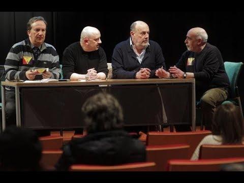 Faustino Zapico (IAS) habla sobre la República. Oviedo 9/02/18 Acto de Unión Republicana Asturias