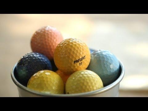 How to Dye Golf Balls Yourself | Kin Community