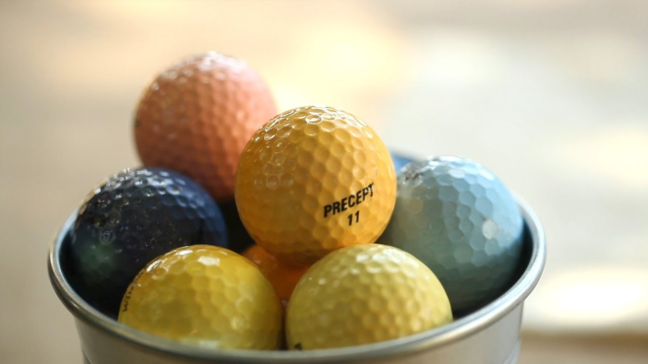 How To Dye Golf Balls Youtube
