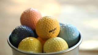 How to Dye Golf Balls