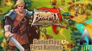 Braveland - First battles - Gameplay (PC - STEAM)