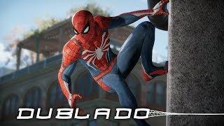Spider-Man PS4 DUBLADO PT-BR | Gameplay E3 2017