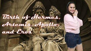 ग्रीक पौराणिक कथाएँ | Greek Mythology | Birth Of Hermes, Artemis, Apollo, And Eros |