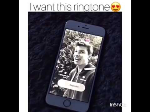 Shawn Mendes ringtone