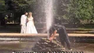 Бывает и так на свадьбе!