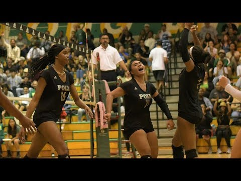 CIF Volleyball: Long Beach Poly vs. Mater Dei