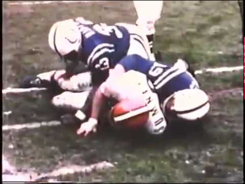 1971 Colts at Browns Playoff Game