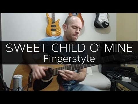 Sweet Child O' Mine (Guns N' Roses) - Fingerstyle Cover W/ TABS