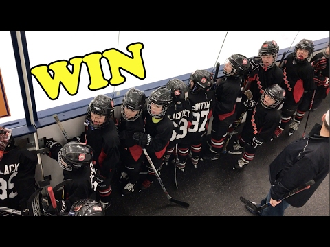 KiDs HoCkey  Mite Highlights win over depew saints  clarence mustangs