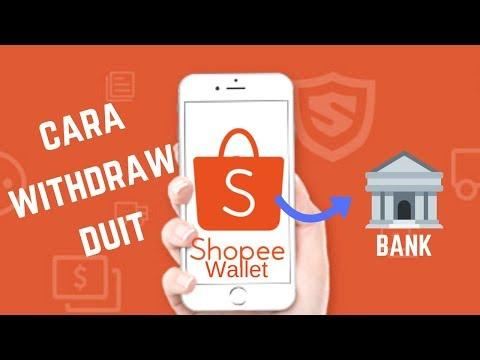 Cara Withdraw Shopee Wallet Ke Akaun Bank Youtube