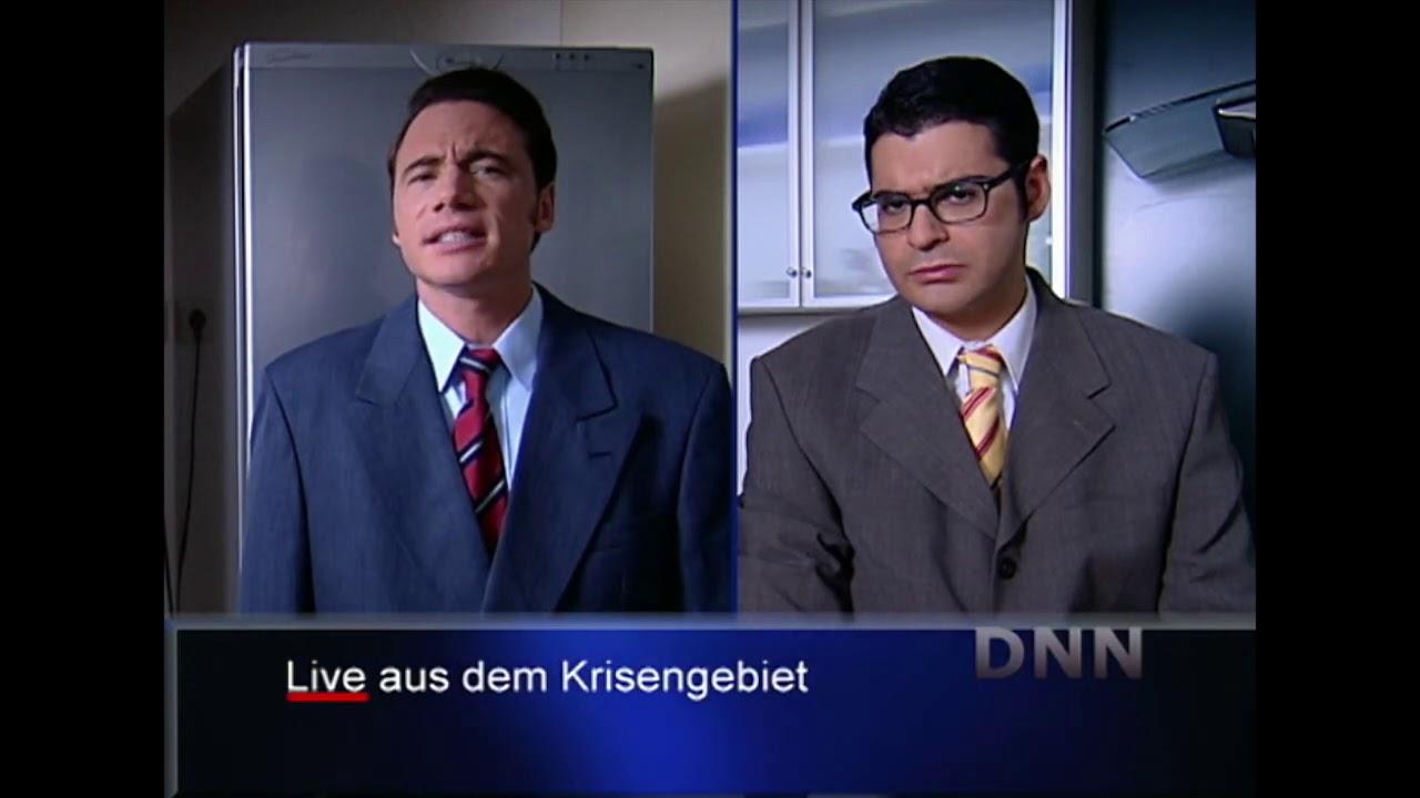"""""""Die Nachrichten WG!"""" bullyparade - TV Comedyshow / 2001"""
