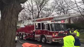 West Hempstead Fire Department Working House Fire