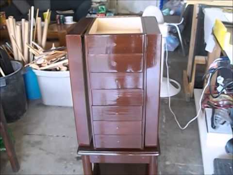 Jewelry Armoire Refurbish