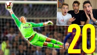 ⚽ TOP 20 PARATE PIU INCREDIBILI DELL\'ANNO! w/ENRY LAZZA e TATINO23