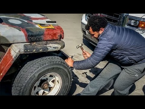 How NOT To Fix A Flat Tire (With Tyler Hoover)