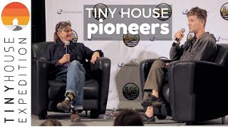Tiny House Pioneers Dee Williams and Jay Shafer at the National Tiny House Jamboree 2017