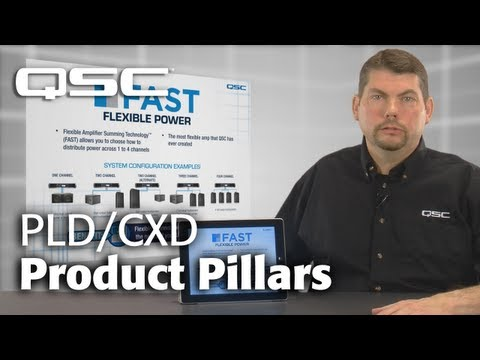 QSC: PLD/CXD Product Pillars