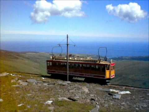 Isle of Man Transport: Snaefell Mountain Railway
