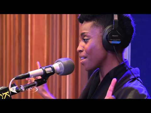 "Skye performing ""Bright Light""  on KCRW"