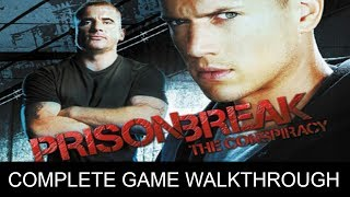 Prison Break The Conspiracy Complete Game Walkthrough Full Game Story (1080p 60 FPS)