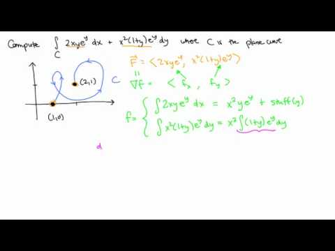 Calculus 3, Topic 23: Conservative vector fields