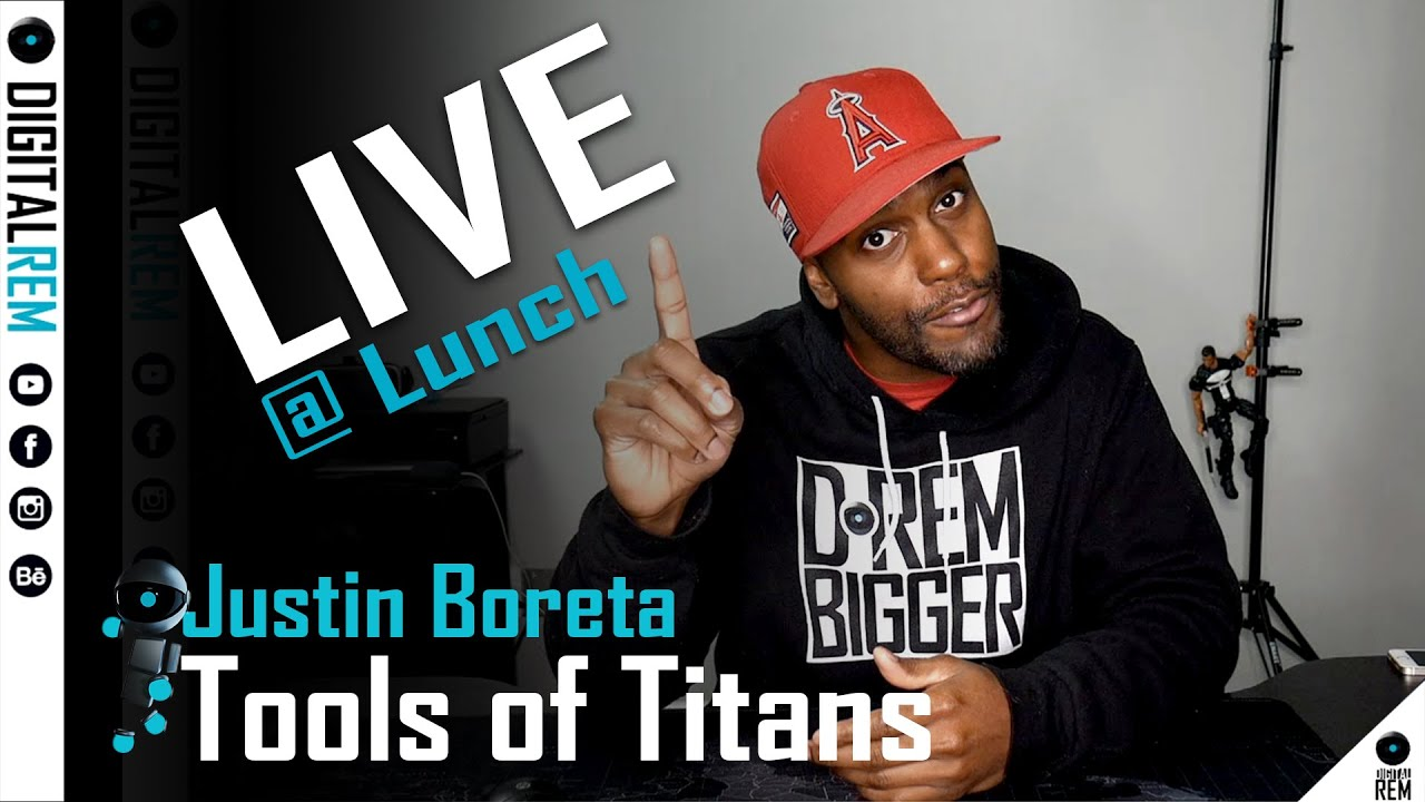 Live at Lunch | Tools Of Titans Justin Boreta