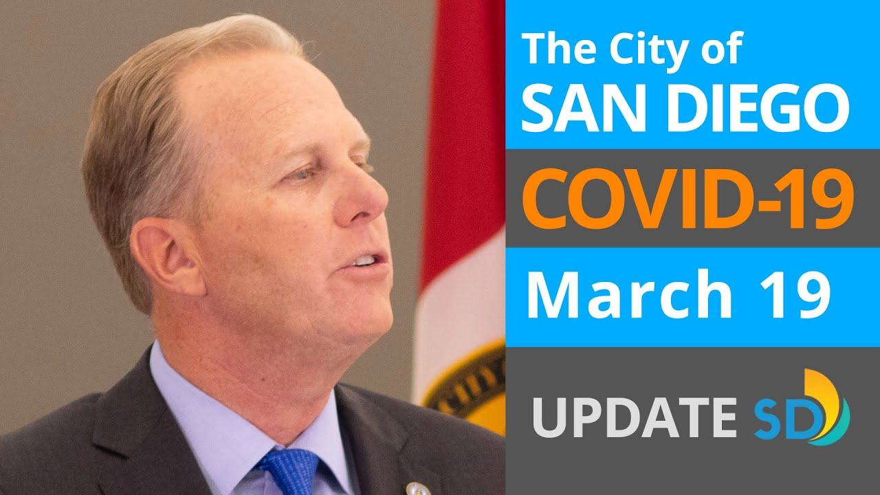 March 19, 2020 City of San Diego COVID-19 Update