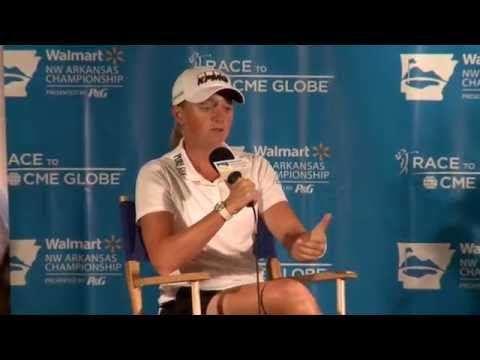 Stacy Lewis' Pre-Tournament Interview at the Walmart NW Arkansas Championship